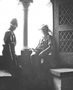 APV_Sammlung_1932 - 2.Schw.Bundeslager Genf - Im Schloss Chillon