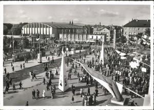 AK Basel - Mustermesse 1953