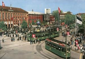 AK Basel - Mustermesse 1964