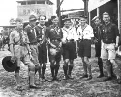 APV_Sammlung_1933 Am 4.intern.Jambouree Ungarn