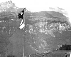 APV_Sammlung_1934 SOLA Restiberg Fahnenmast