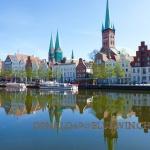 Lübecker Skyline
