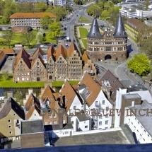 Lübeck Holsten-Tor und Salzhäuser
